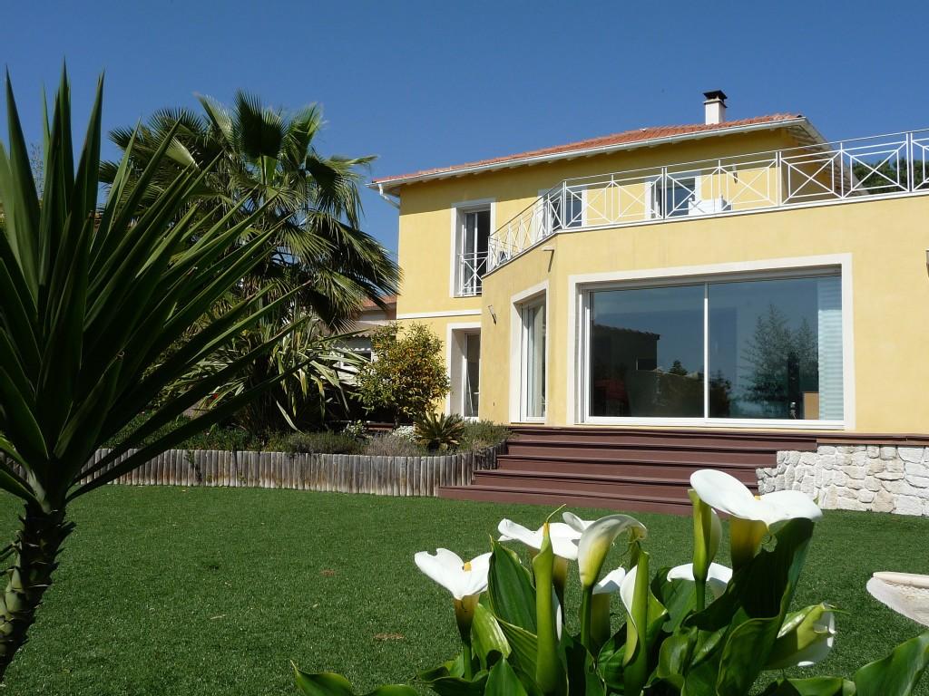 Villa de luxe avec piscine nice, côte d'azur