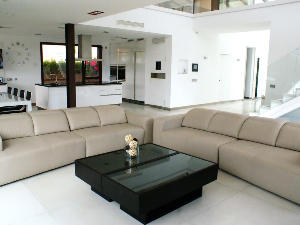 villa wohnzimmer:Luxus-Villa am Meer mit Schwimmbad, 6 Schlafzimmer, 6 Badezimmer  ~ villa wohnzimmer